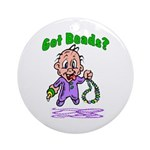 Got Beads Ornament (Round)