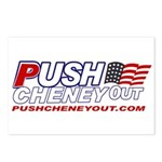 Postcards (Package of 8) - Push Cheney Out