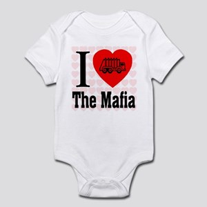 I Love The Mafia Garbage Truc Infant Bodysuit