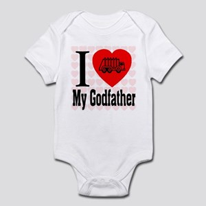 I Love My Godfather Infant Bodysuit