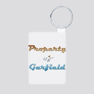 Property Of Garfield Male Keychains