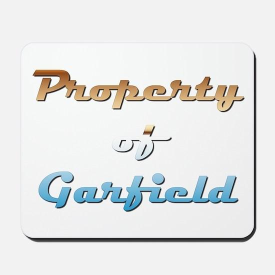Property Of Garfield Male Mousepad