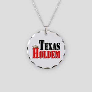 Texas Holdem Necklace Circle Charm
