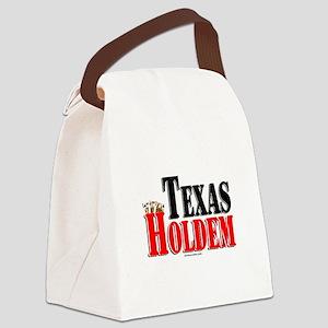 Texas Holdem Canvas Lunch Bag