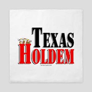 Texas Holdem Queen Duvet