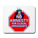 No Amnesty Mousepad