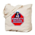 No Amnesty Tote Bag
