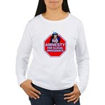 No Amnesty Women's Long Sleeve T-Shirt