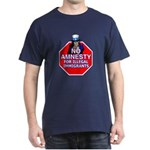 No Amnesty Dark T-Shirt