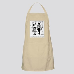 Language Cartoon 2864 Apron