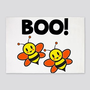 Boo Bees 5'x7'Area Rug