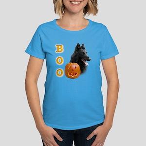 Belgian Sheepdog Boo Women's Dark T-Shirt