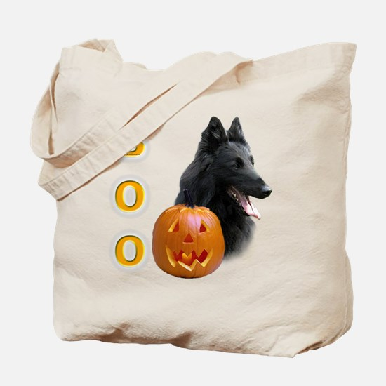 Belgian Sheepdog Boo Tote Bag