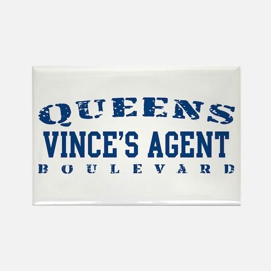 Vince's Agent - Queens Blvd Rectangle Magnet