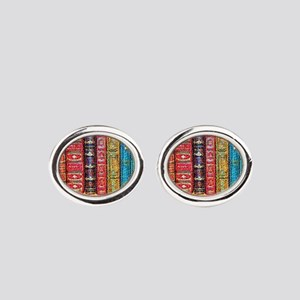 Library Oval Cufflinks