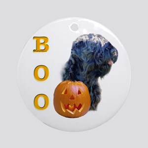 Black Russian Boo Ornament (Round)