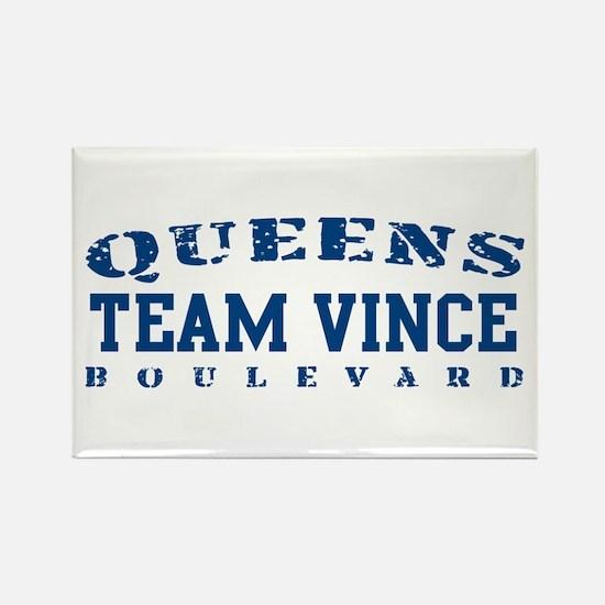 Team Vince - Queens Blvd Rectangle Magnet