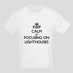 Keep Calm by focusing on Lighthouses T-Shirt