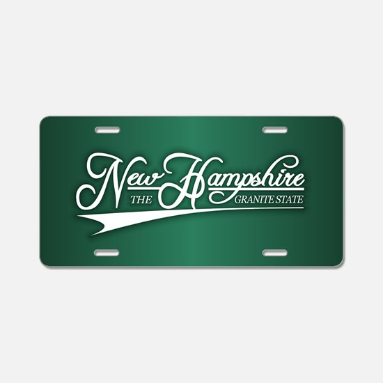 New Hampshire State of Mine Aluminum License Plate