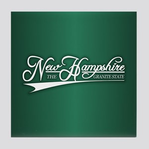 New Hampshire State of Mine Tile Coaster