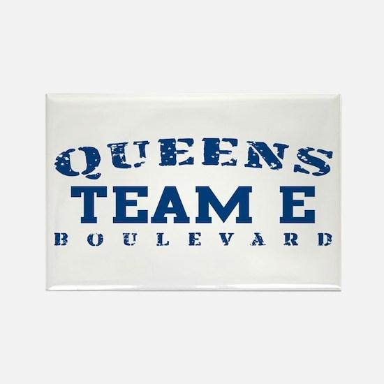 Team E - Queens Blvd Rectangle Magnet