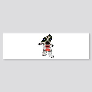 SUGAR FOOTED Bumper Sticker