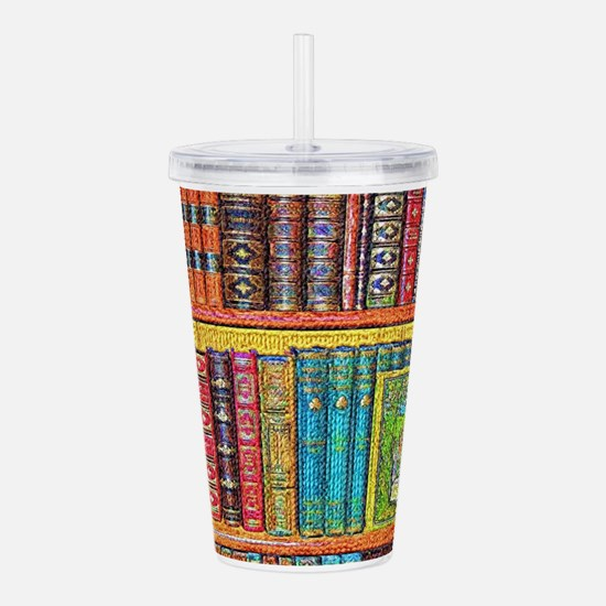Library Acrylic Double-wall Tumbler