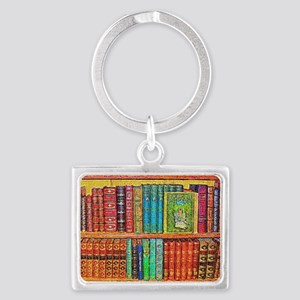 Library Landscape Keychain