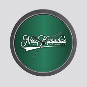 New Hampshire State of Mine Wall Clock