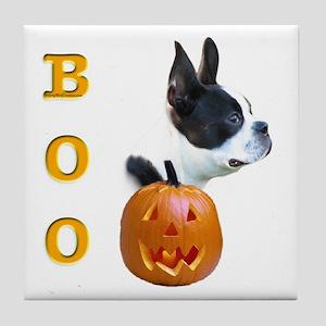 Boston Boo Tile Coaster