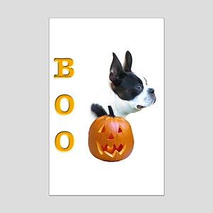 Boston Boo Mini Poster Print