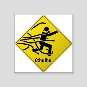 Caution: Cthulhu Crossing Sticker