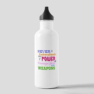 Colorguard - Never Underestimate Water Bottle