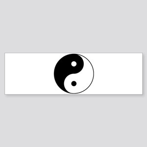 Classic YinYang Bumper Sticker