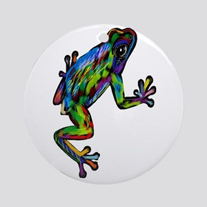 FROG HEIGHTS Round Ornament