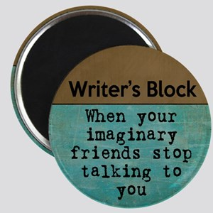 Writer's Block Magnets