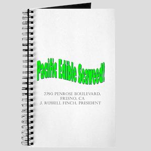 Pacific Edible Seaweed Sales Book