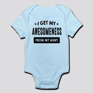 I Get My Awesomeness From My Aunt Body Suit