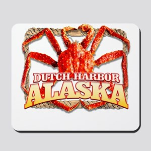 DUTCH HARBOR CRABBING Mousepad