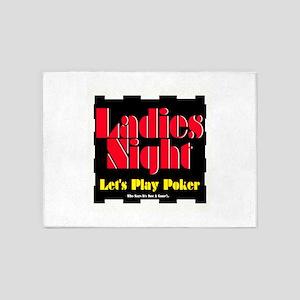 Ladies Night 5'x7'Area Rug