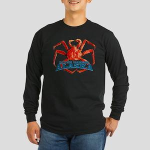 DUTCH HARBOR ALASKA Long Sleeve Dark T-Shirt