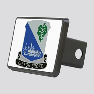 442nd Infantry Regiment.pn Rectangular Hitch Cover