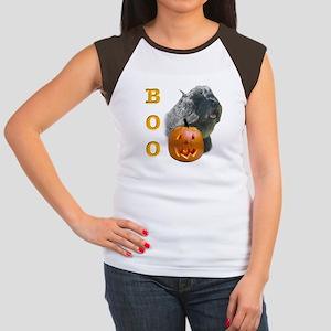 Bouvier Boo Women's Cap Sleeve T-Shirt