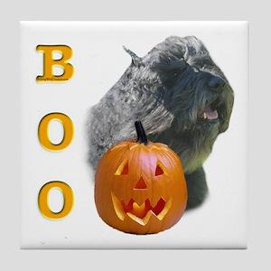 Bouvier Boo Tile Coaster
