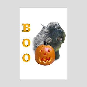 Bouvier Boo Mini Poster Print