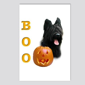 Briard Boo Postcards (Package of 8)