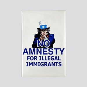 Amnesty Rectangle Magnet