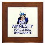 Amnesty Framed Tile