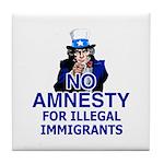 Amnesty Tile Coaster
