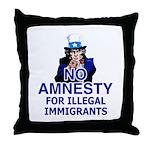 Amnesty Throw Pillow